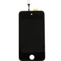 Vitre Avant Noir pour Ipod Touch 4